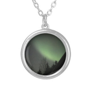 Northern Lights Silver Plated Necklace