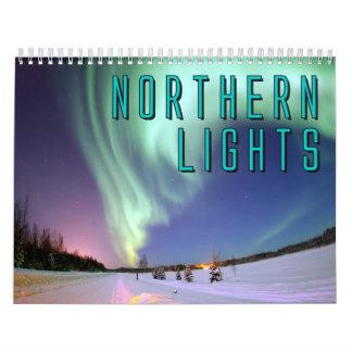 Northern Lights Wall Calendar