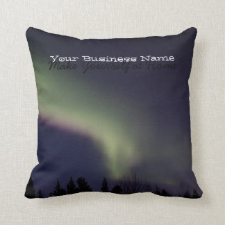 Northern Lights with a Streak of Purple; Promo Pillow