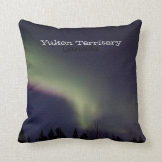 Northern Lights with a Streak of Purple; Yukon Pillow