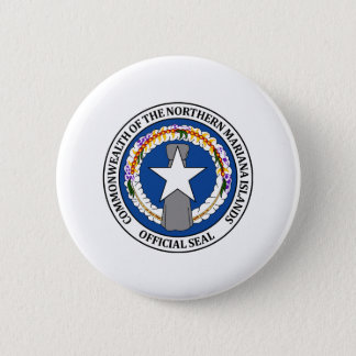 Northern Mariana Islander coat of arms 2 Inch Round Button
