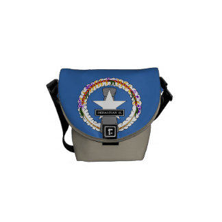 Northern Mariana Islands Flag Commuter Bags