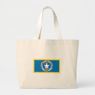 Northern Marianas Flag Large Tote Bag