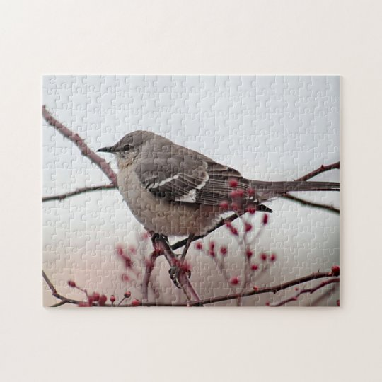 Northern mockingbird jigsaw puzzle