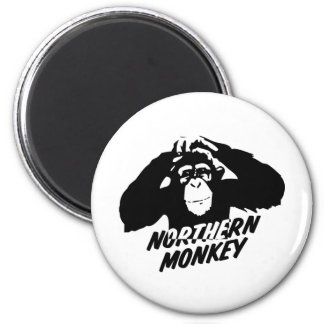 Northern Monkey 2 Inch Round Magnet