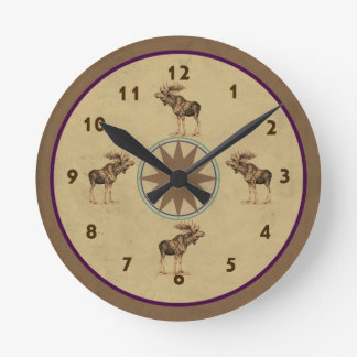 Northern Moose Clock