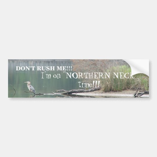 Northern Neck Bumper Sticker