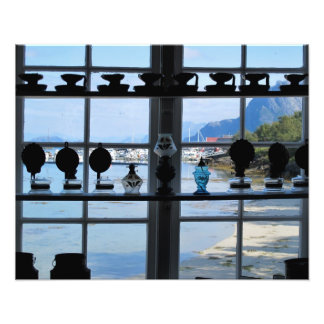Northern Norway Harbour Photo Art