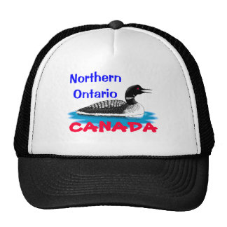 Northern Ontario, CANADA Trucker Hat