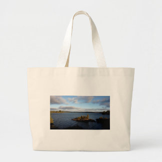 Northern Ontario Lake Large Tote Bag