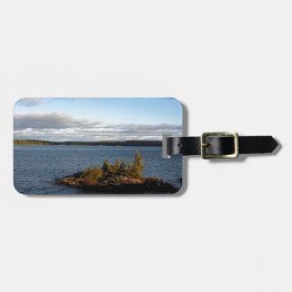 Northern Ontario Lake Luggage Tag