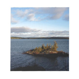 Northern Ontario Lake Notepad