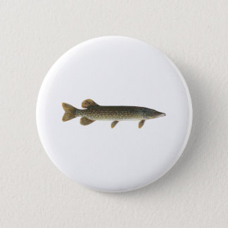 Northern Pike 2 Inch Round Button