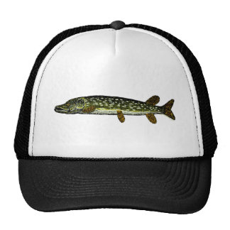 Northern Pike, woodcut, 1833 Trucker Hat