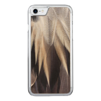 Northern Pintail Duck feather Carved iPhone 7 Case