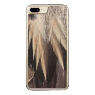 Northern Pintail Duck feather Carved iPhone 7 Plus Case