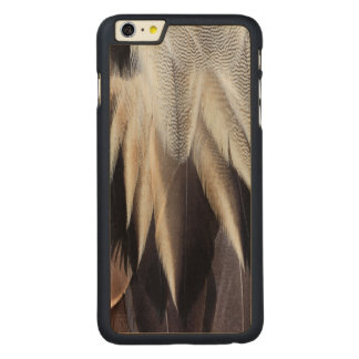 Northern Pintail Duck feather Carved Maple iPhone 6 Plus Case