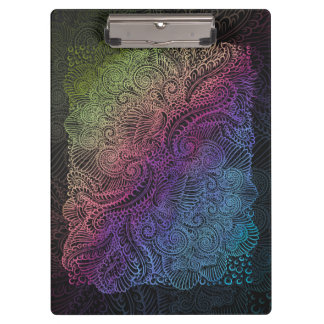 Northern Rainbow night Clipboard