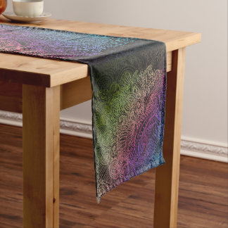 Northern Rainbow night Short Table Runner