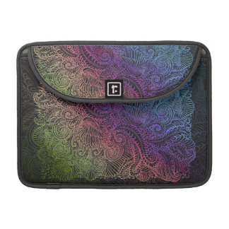 Northern Rainbow night Sleeve For MacBook Pro