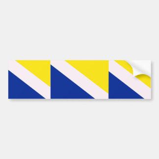 Northern Schleswig, Greenland flag Bumper Sticker