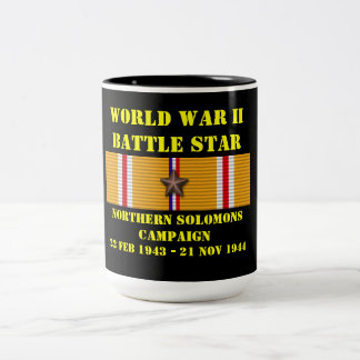 Northern Solomons Campaign Two-Tone Coffee Mug