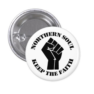 Northern Soul 1 Inch Round Button