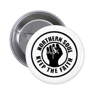 Northern Soul 2 Inch Round Button