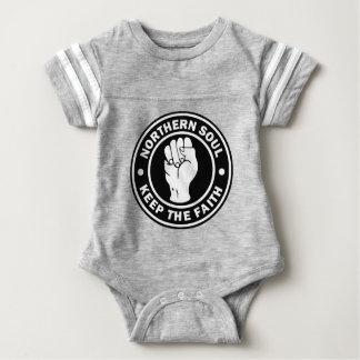 northern soul Logo  black Baby Bodysuit