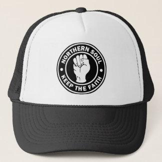 northern soul Logo  black Trucker Hat