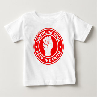 northern soul Logo Red Baby T-Shirt