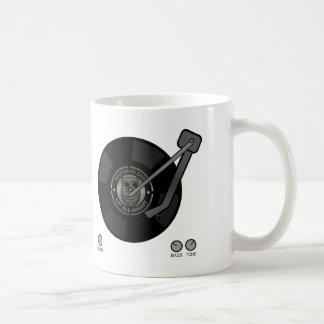 Northern Soul vinyl on turntable Coffee Mug