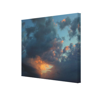 Northern Sunrise Sky and Clouds Summer 2016 Canvas Print