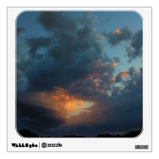 Northern Sunrise Sky and Clouds Summer 2016 Wall Sticker