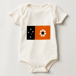 northern-territory-Flag Baby Bodysuit