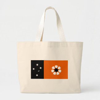 northern-territory-Flag Large Tote Bag