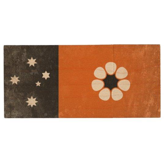 Northern Territory Wood USB 2.0 Flash Drive