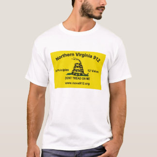 Northern Virginia 912 - Gadsden Flag T-Shirt