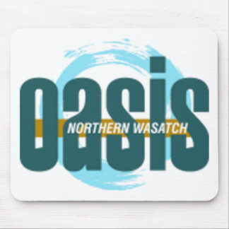 Northern Wasatch Oasis Logo Mouse Pad