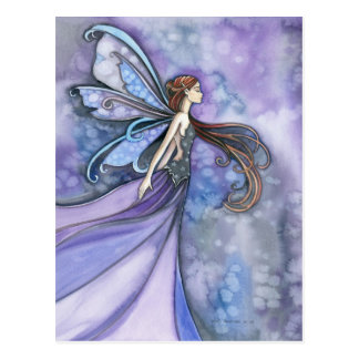 Northern Wind Fairy Postcard