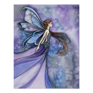 Northern Wind Fairy Poster Print by Molly Harrison