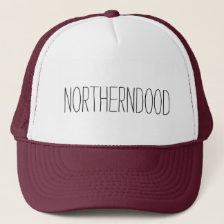 Northerndood Trucker Hat - Text Only