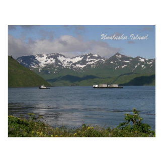 Northland Barge in Unalaska Bay Postcard