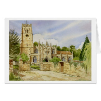 Northleach Parish Church Card