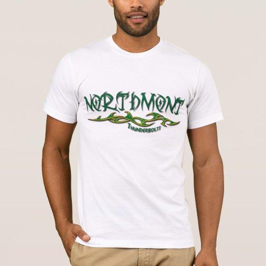 Northmont Thunderbolts Tribal T-Shirt