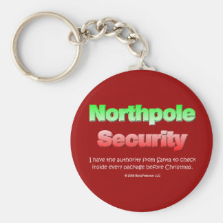 Northpole Security Keychains