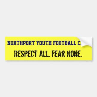 Northport Youth Football Club Bumper Sticker