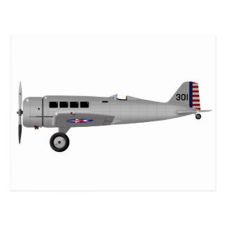 Northrop Y1C-19 Alpha Postcard
