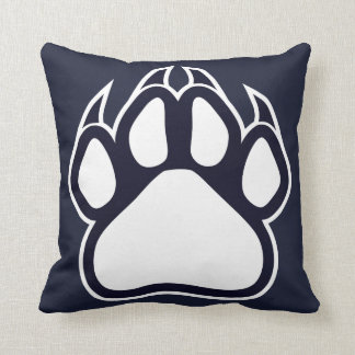 Northshore High School Panthers Pillow Navy White