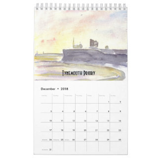 Northumberland Coast Calendar 2018